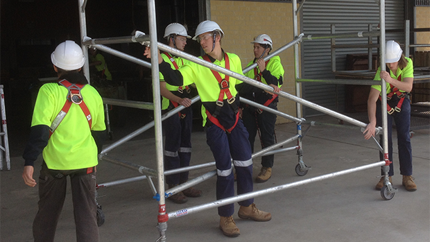 Building and Construction VET students